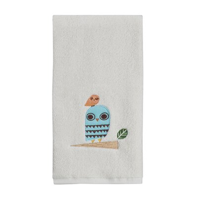 Give a Hoot Print Hand Towel