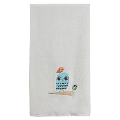 Vigil Hoot Print Bath Towel