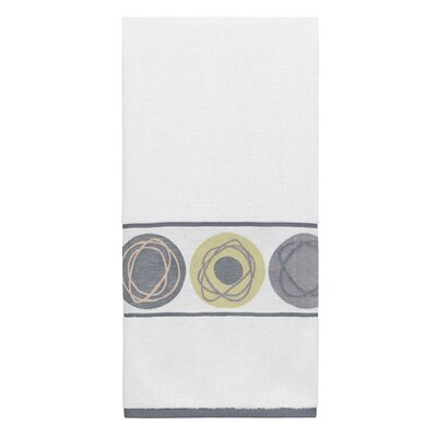 Dot Swirl Jacquard 2 Piece Towel Set