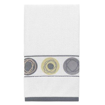 Dot Swirl Jacquard Hand Towel