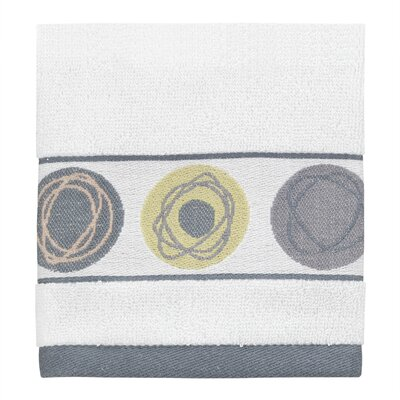 Dot Swirl Jacquard Wash Cloth