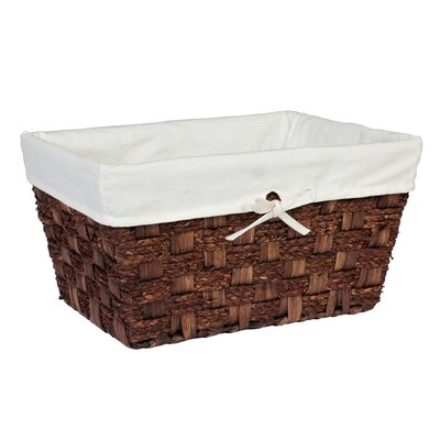 Java Towel & Utility Storage Basket Finish: Espresso