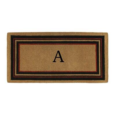 Deforge Monogram Doormat