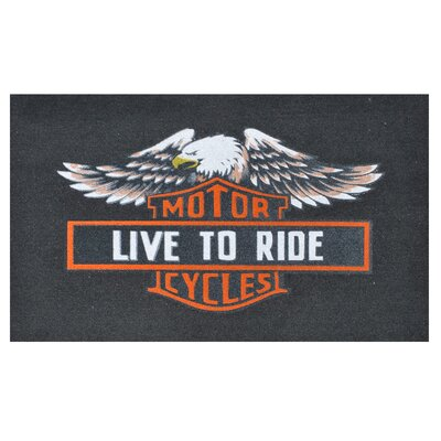 Live to Ride Doormat