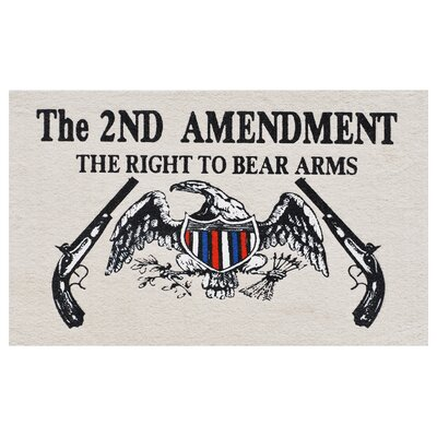 Right to Bear Arms Doormat