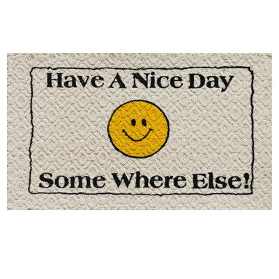 Have a Nice Day Doormat