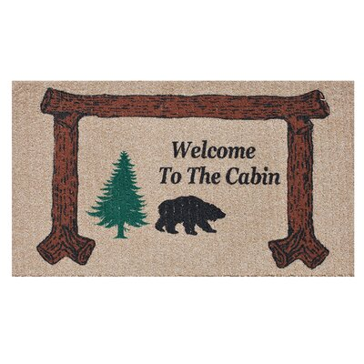 Welcome to the Cabin Doormat