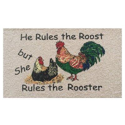 Rooster Doormat