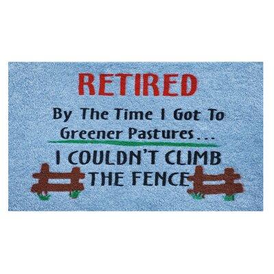 Retired Doormat