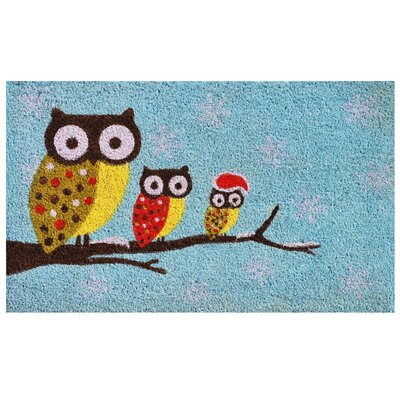 Cozy Owls Doormat