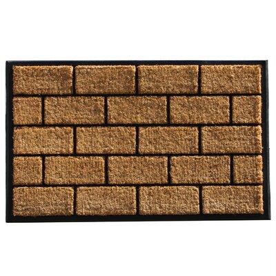 Brick Doormat Mat Size: 2 x 3
