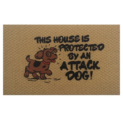 Attack Dog Doormat