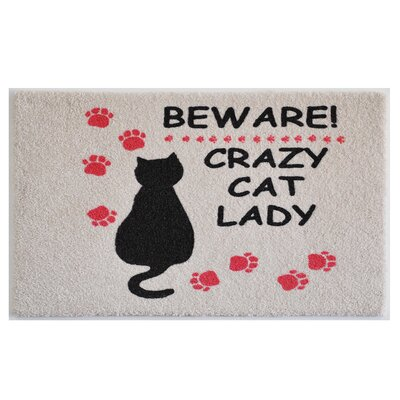 Cat Lady Doormat