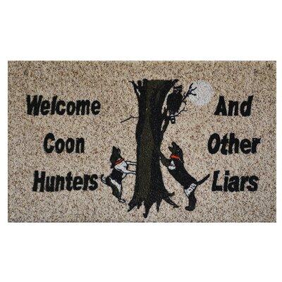 Coon Hunters Doormat