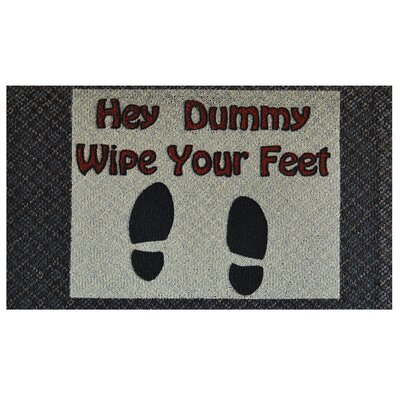 Wipe Your Feet Doormat