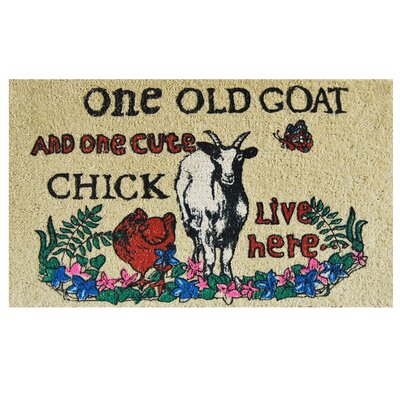 One Old Goat Doormat