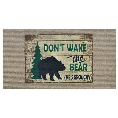 Dont Wake the Bear Doormat