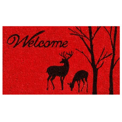 Winter Welcome Doormat