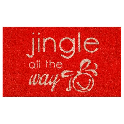 Jingle All the Way Doormat