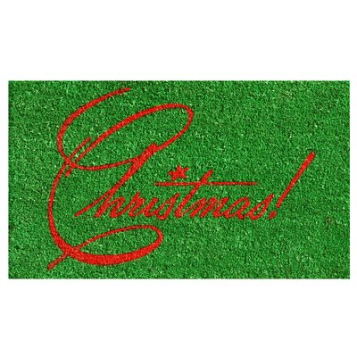 Christmas Doormat Mat Size: Rectangle 2 x 3