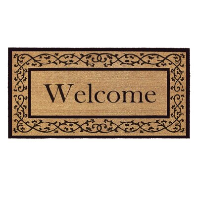 Brouillard Doormat Mat Size: Rectangle 3 x 6