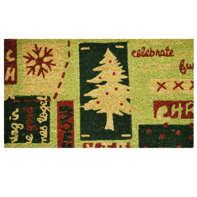 Christmas Menagerie Doormat