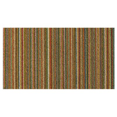 Stripes Doormat Color: Kaleidoscope