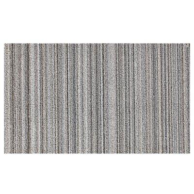 Stripes Doormat Color: Stone Grotto
