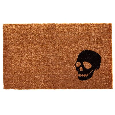 Rectangle Skull Doormat
