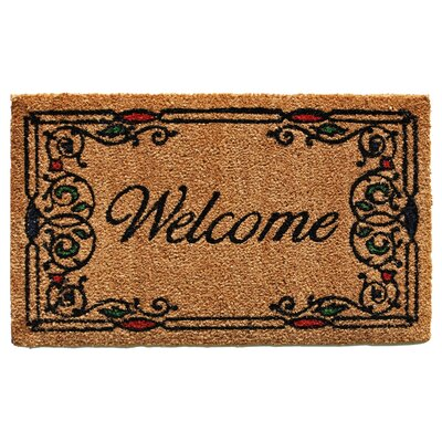 Charleston Welcome Doormat