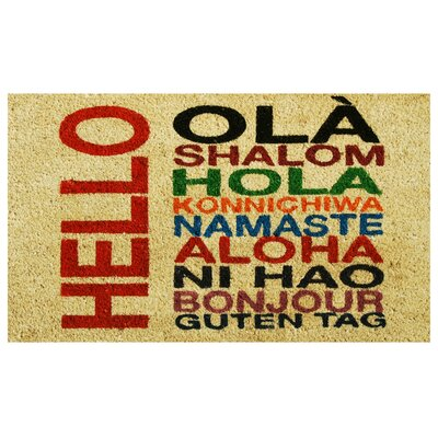 International Hello Doormat