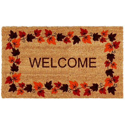 Autumn Welcome Doormat
