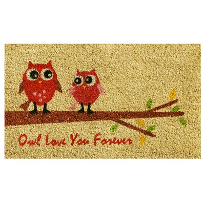 Owl Love Doormat