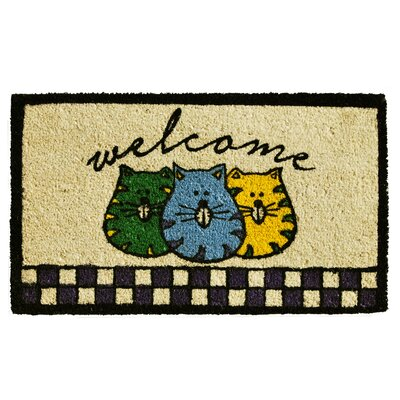 Fat Cats Welcome Doormat