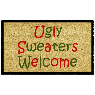 Ugly Sweaters Doormat