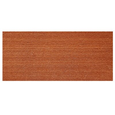 Solid Doormat Mat Size: Rectangle 26 x 4