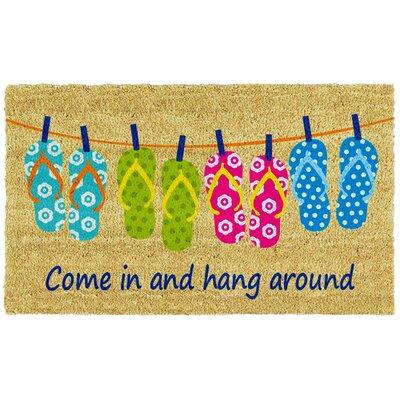 Flip-flop Fun Doormat