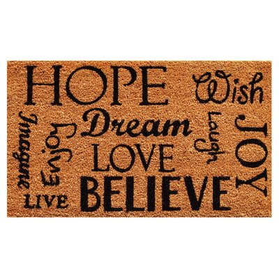 Hope Dream Believe Doormat