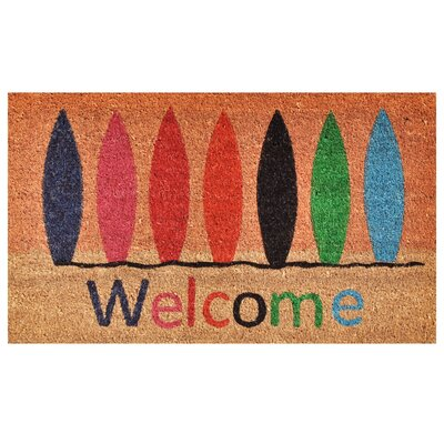 Surfboard Welcome Doormat