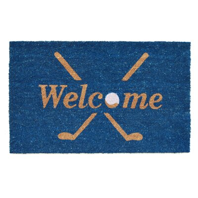 Golf Welcome Doormat