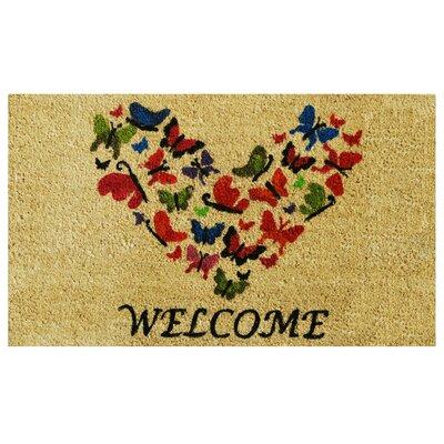 Butterfly Welcome Doormat