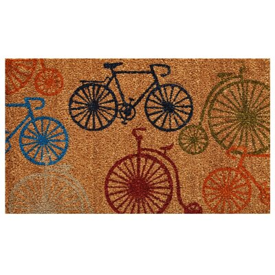 Bicycles Doormat Rug Size: 36L x 24 W
