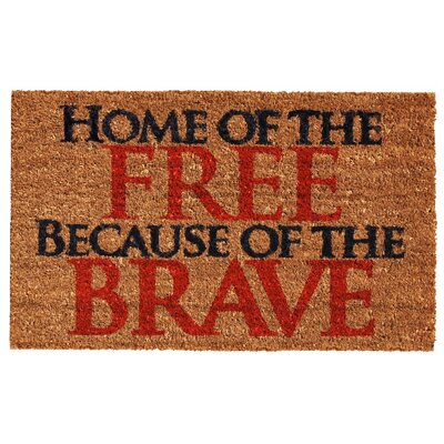 Home of the Free Doormat