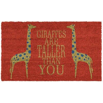 Giraffes Doormat