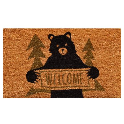 Akridge Bear Greeting Doormat