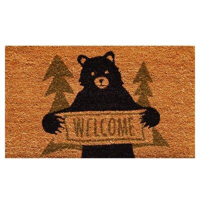 Akridge Bear Greeting Doormat