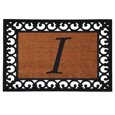 Glenview Monogram Insert Doormat Letter: I