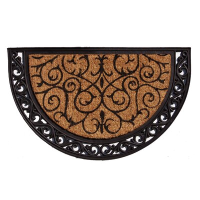 Ornate Scroll Doormat