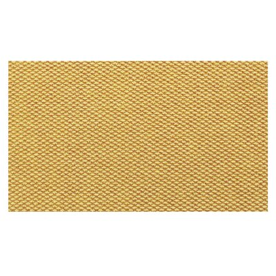 Hobnail Green Doormat Rug Size: 18 x 26, Color: Yellow