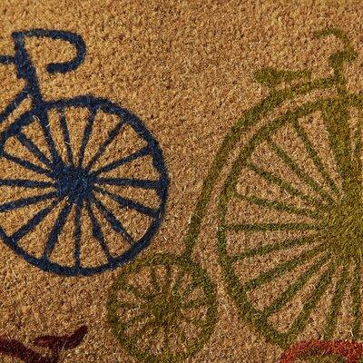 Bicycles Doormat Rug Size: 29 L x 17 W